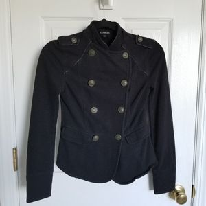 EXPRESS Military Blazer Black
